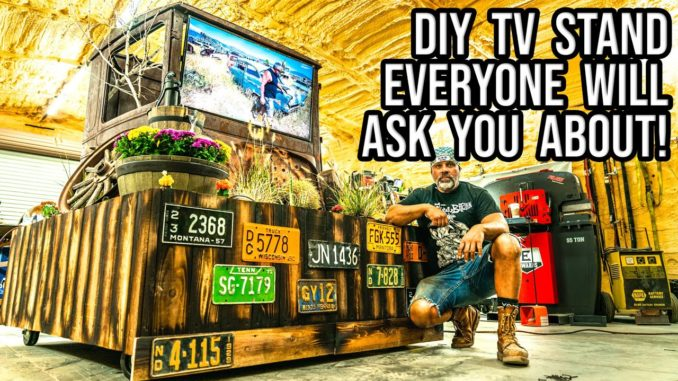 How To Make A TV Stand with WelderUp's Steve Darnell