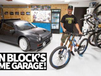 Ken Block's Ultimate Home Garage