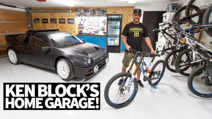 Ken Block's Ultimate Home Garage