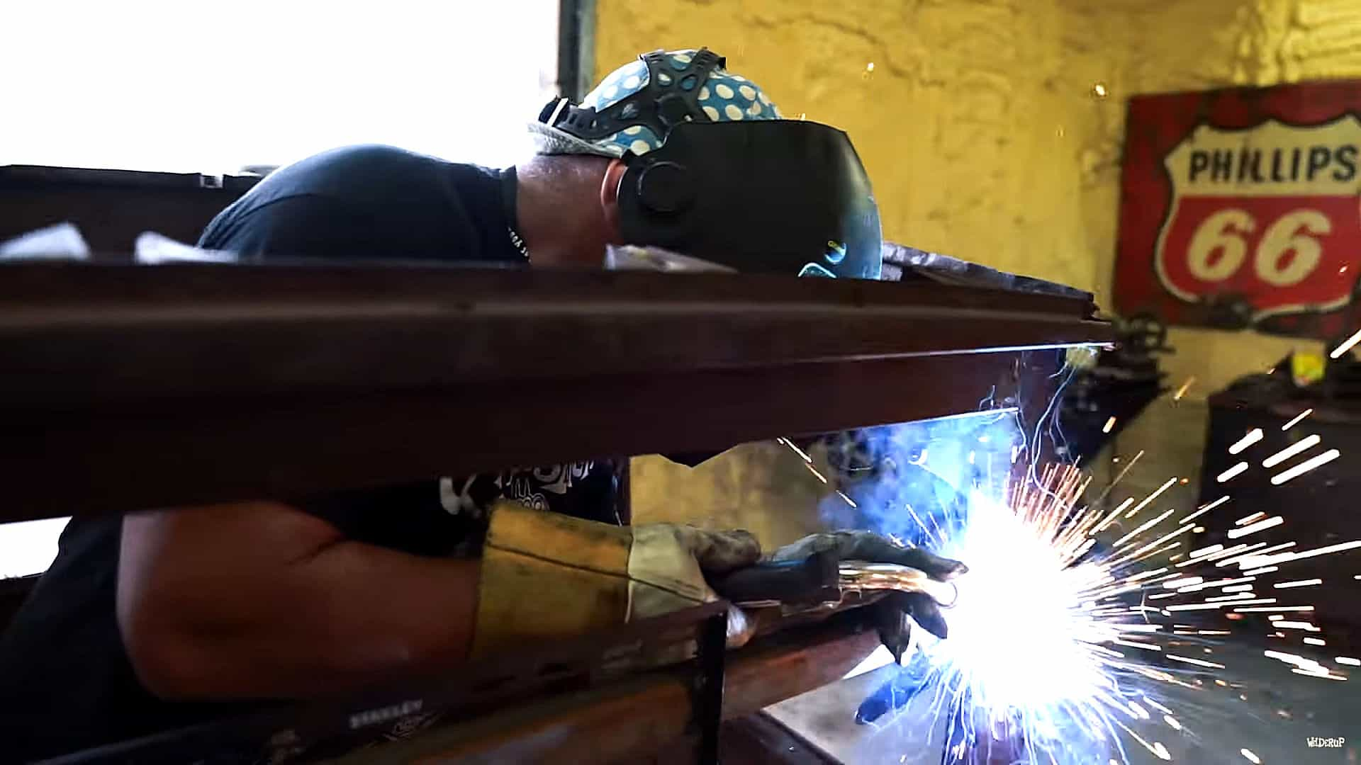 Making A TV Stand with WelderUp's Steve Darnell