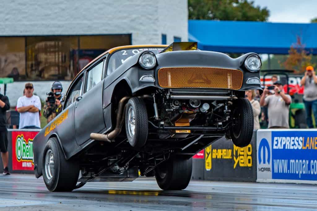 Mike Finnegan in Blasphemi at Hot Rod Drag Week 2019 ~ Photo by John Schultz