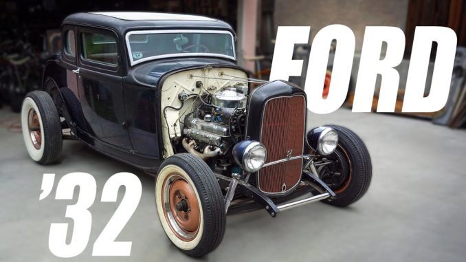 Nailhead Powered '32 Ford Hot Rod Fired Up After 10 Years