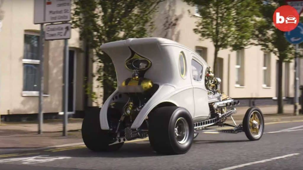 Paul Bacon Builds Steampunk Hot Rod From Scratch