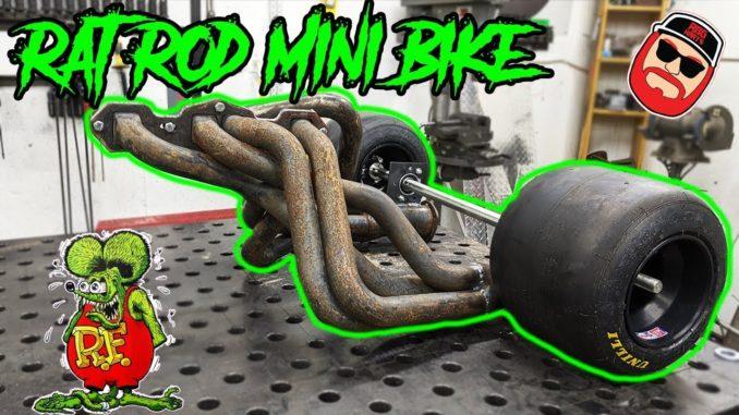 Rat Rod Header Mini-Bike Trike Build