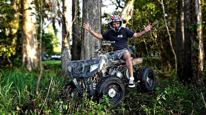 Rat Rod Quad ~ Predator 420cc Powered ATV