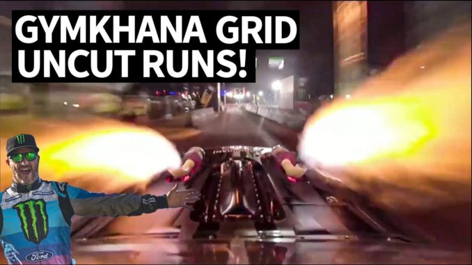 Raw GoPro Gymkhana In-Car Footage ~ Ken Block & Friends at GRID Poland 2019