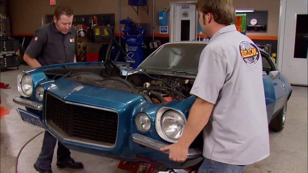Rebuilding a 1970 Chevy Camaro L78 396 2