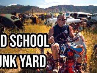 Steve Darnell ~ Old School Junkyard