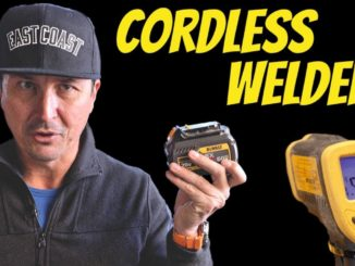 Testing World's First Cordless Battery Powered Miller Welder