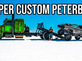 WelderUp's Insane Custom Turbo Diesel Peterbilt