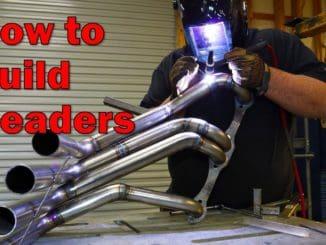Building Custom Zoomie Exhaust Headers