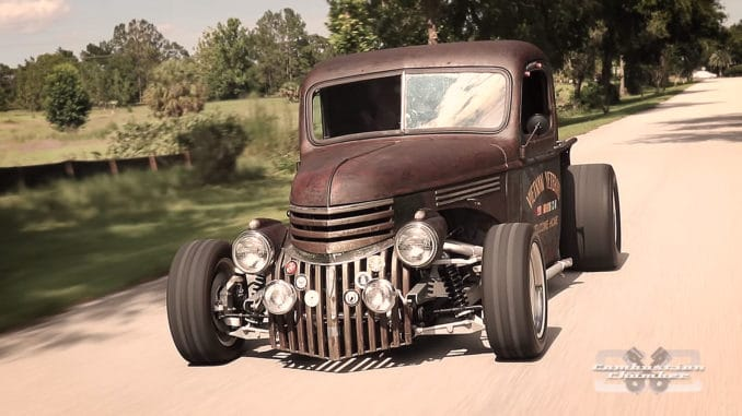 1946 Chevy Rat Rod Truck ~ A Rolling Tribute to Veterans
