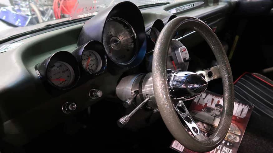 1959 Chevy El Camino 800-HP Rat Rod at SEMA 2019