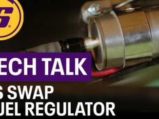 Speedway Motors Deluxe LS Swap Fuel Filter/Regulator Installation