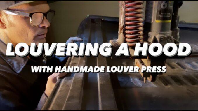 Homemade DIY Louver Press