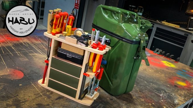 Building The Ultimate Jerry Can Tool Box