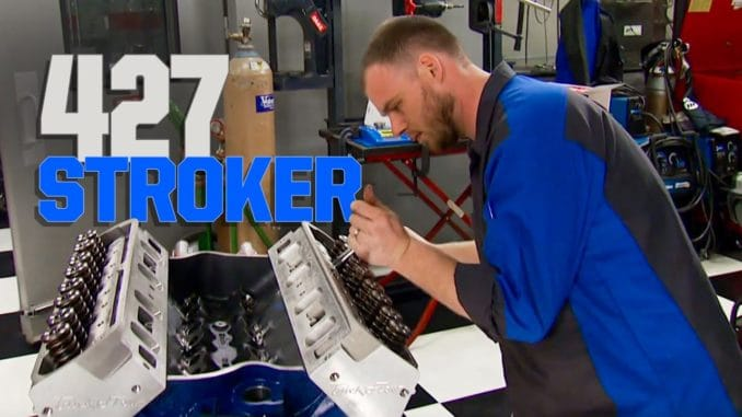 Building a 427 Stroker from a Ford Boss 351 Block
