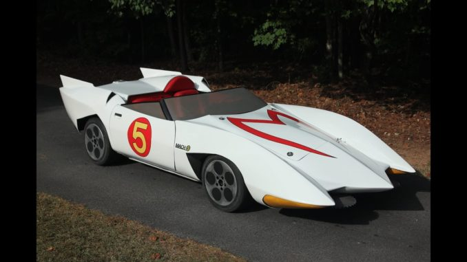 Cartoon Junkie Builds Speed Racer Mach 5 Replica