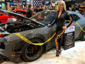 Dodge Challenger Stolen, Crashed, Yet Still Made it to SEMA