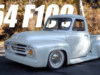 Dylan's 1954 F100 ~ An Early 1960s Style Build