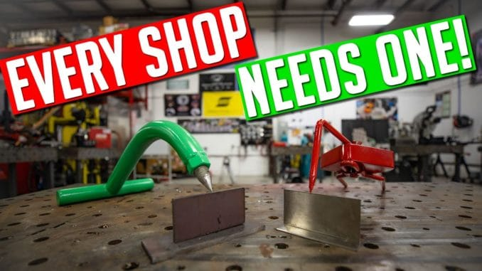 Everyone Can Use A Third Hand In The Shop