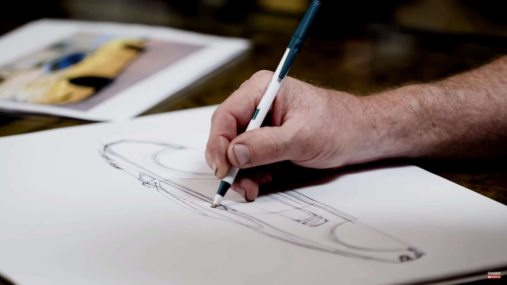 Foose on Design ~ Redesigning the Chevrolet C5 Corvette ~ Illustration