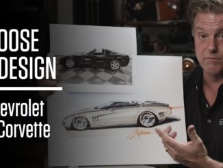 Foose on Design ~ Redesigning the Soft Lines of the Chevrolet C5 Corvette