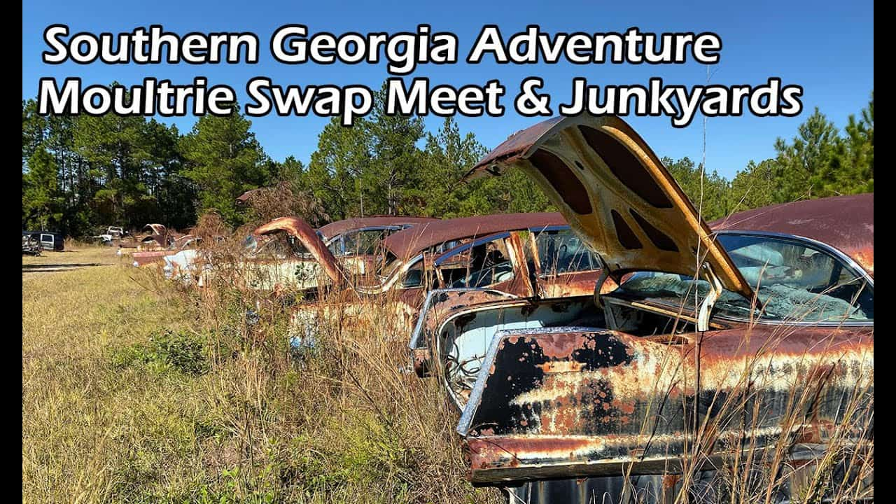 Georgia Rusty Gold - Moultrie Swap Meet and Junkyards