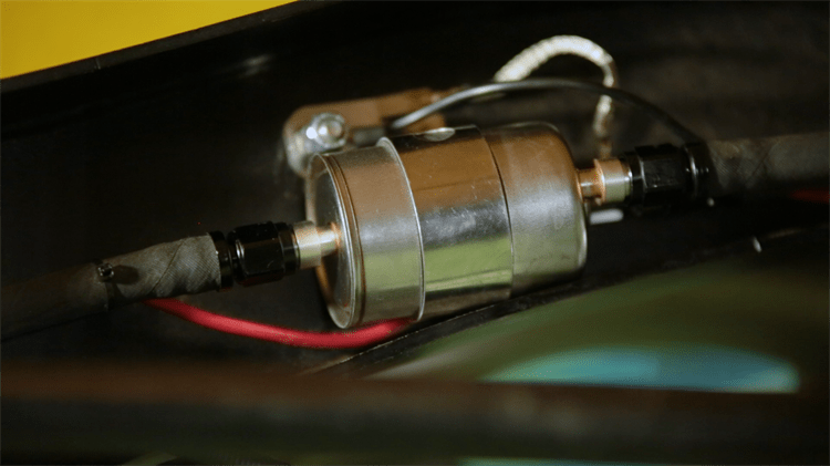 Installing the new LS Swap Fuel Filter-Regulator