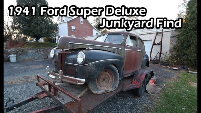 Iron Trap Garage Junkyard Find ~ 1941 Ford Super Deluxe