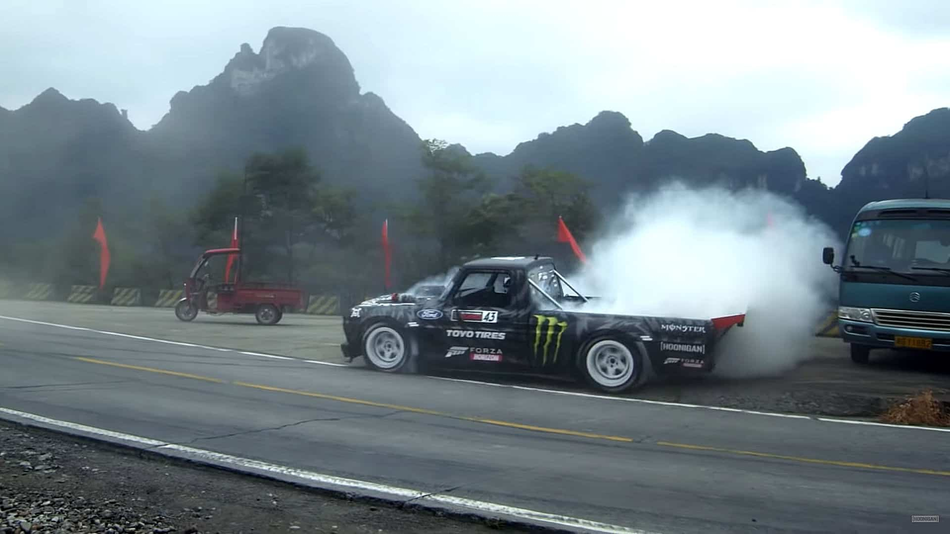 Ken Block's Climbkhana TWO Tianmen Mountain