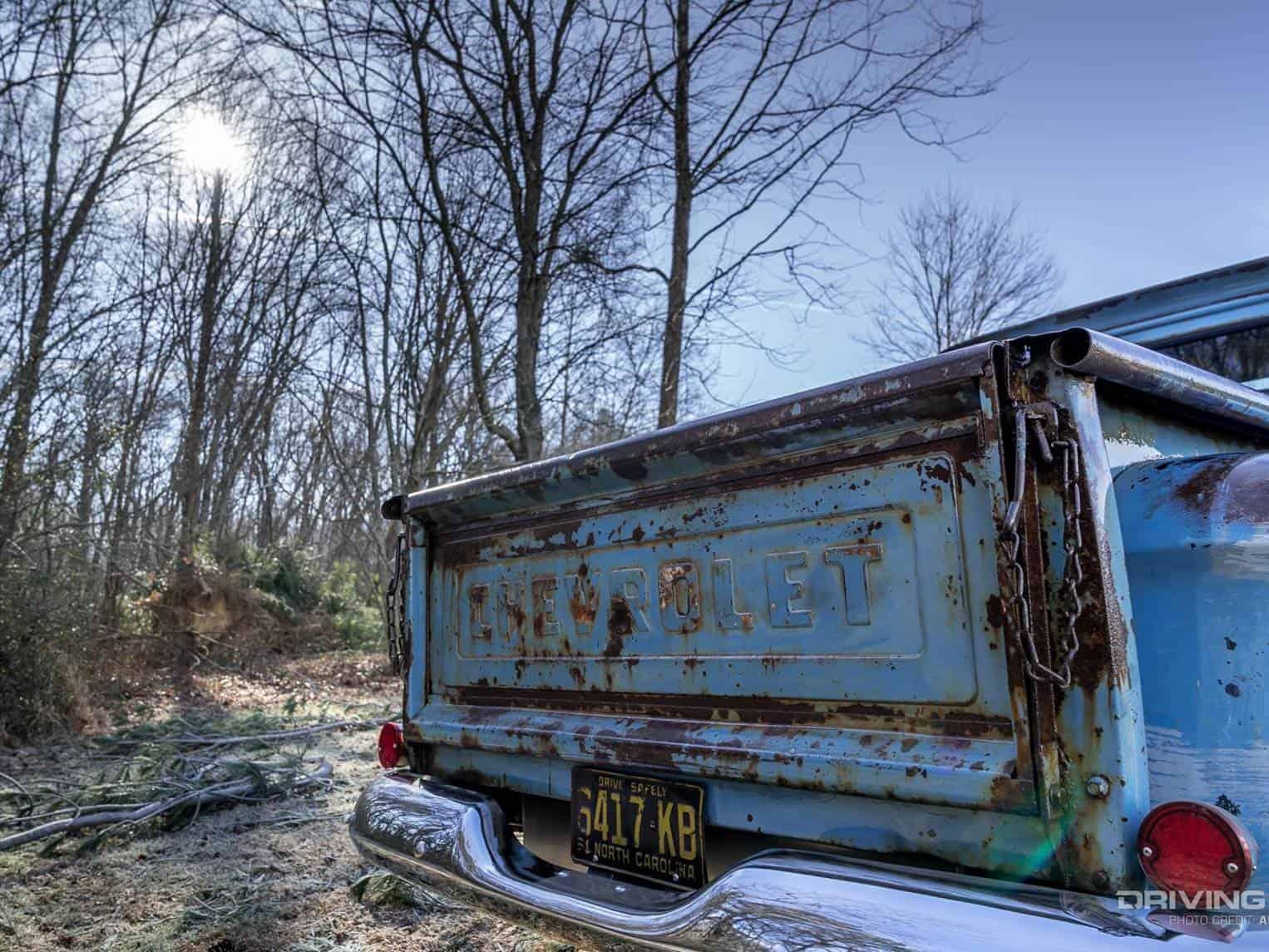 Mark Parham's 1961 Chevy Apache 10 Details