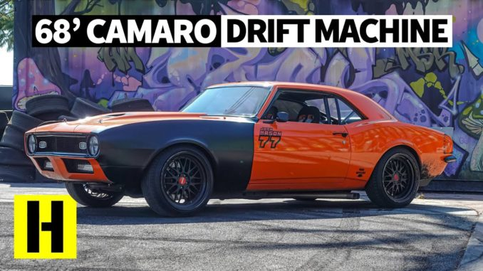 Build Your Own Camaro >> Not Your Typical Drifter 1968 Camaro Party Car Has A 500hp Sbc