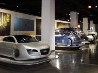 Petersen Automotive Museum Hollywood Dream Machines Exhibit