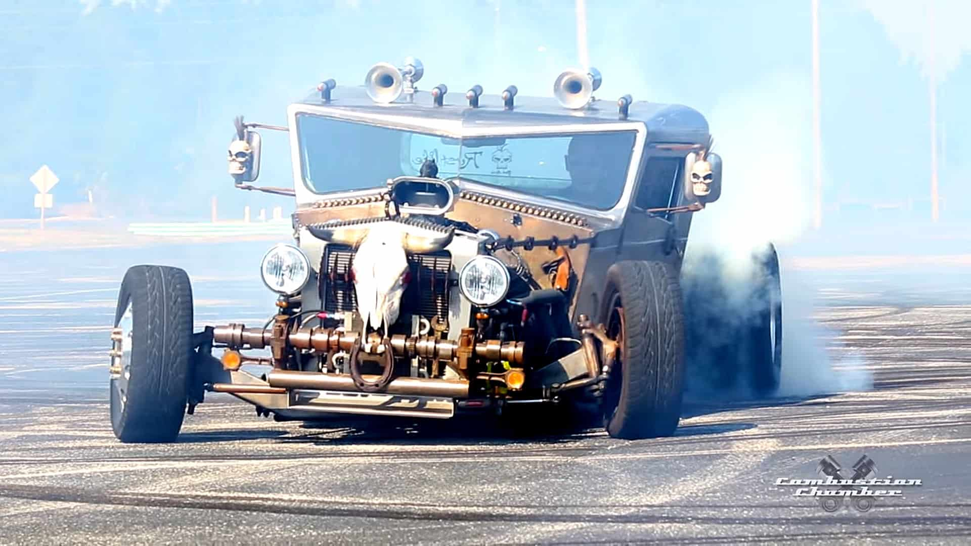Ratical A Completely Hand Built Dually Rat Rod Truck