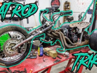 Rat Rod Header 125cc Mini-Bike Trike Build