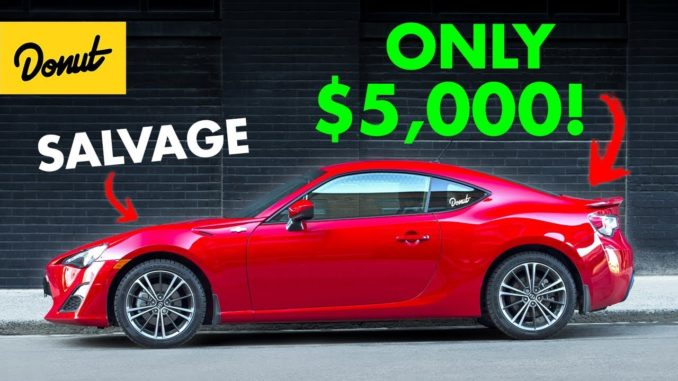 Salvage Title Cars ~ Bargain or Nightmare?
