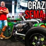 See the Craziest SEMA Show Ever with WelderUp's Steve Darnell