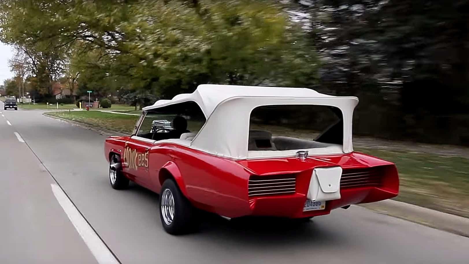 The Original 1966 Pontiac GTO Monkeemobile