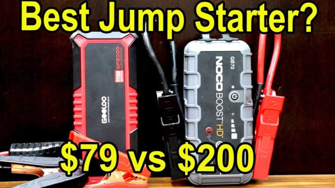 Car Jump Starter Battery Boosters