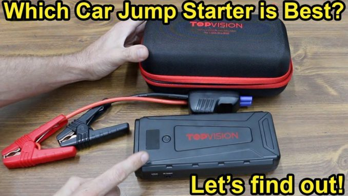 Which Car Jump Starter Is Best?