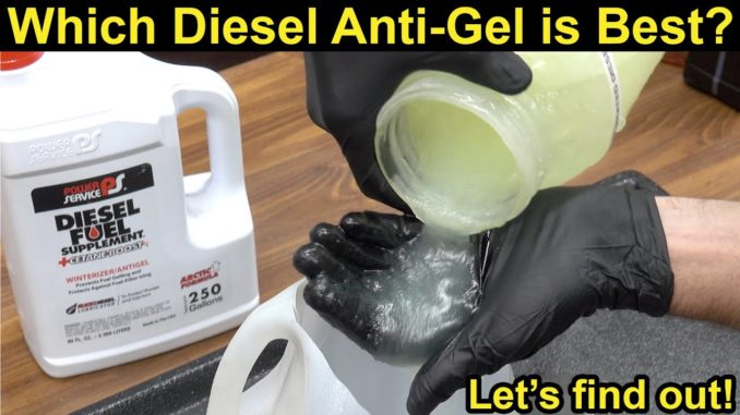 Which Diesel Anti-Gel Additive is Best?