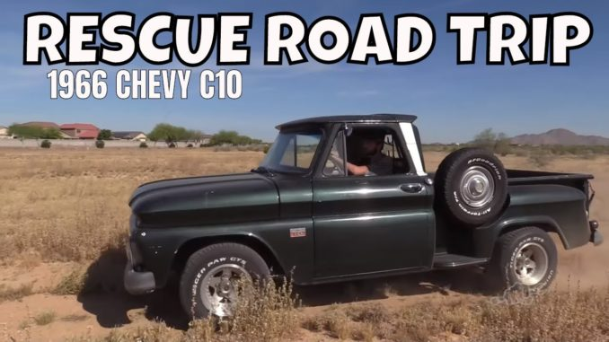 13,000 Mile Rescue Road Trip ~ 1966 Chevrolet C10