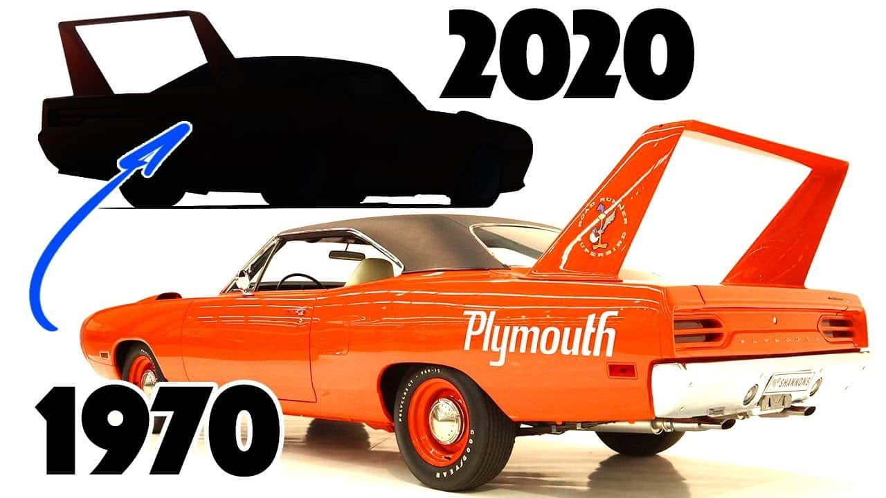 Redesigning the 1970 Plymouth Road Runner Superbird