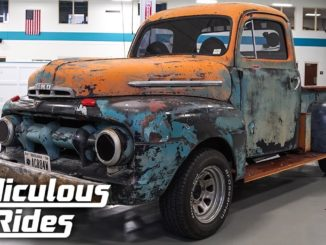 Davey Hamilton's Ass-Backwards '52 Ford Pick-Up Truck