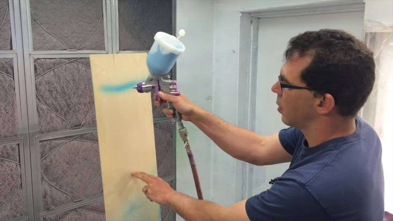 HVLP Paint Spray Gun Basics Explained + How To Setup and Spray