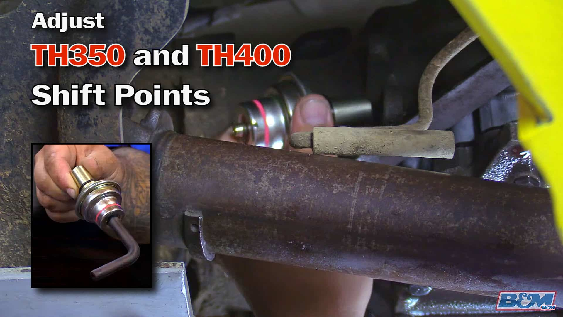 How To Adjust TH350 & TH400 Shift Points with a Vacuum Modulator