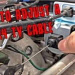 How To Adjust a 700R4 Transmission TV Cable