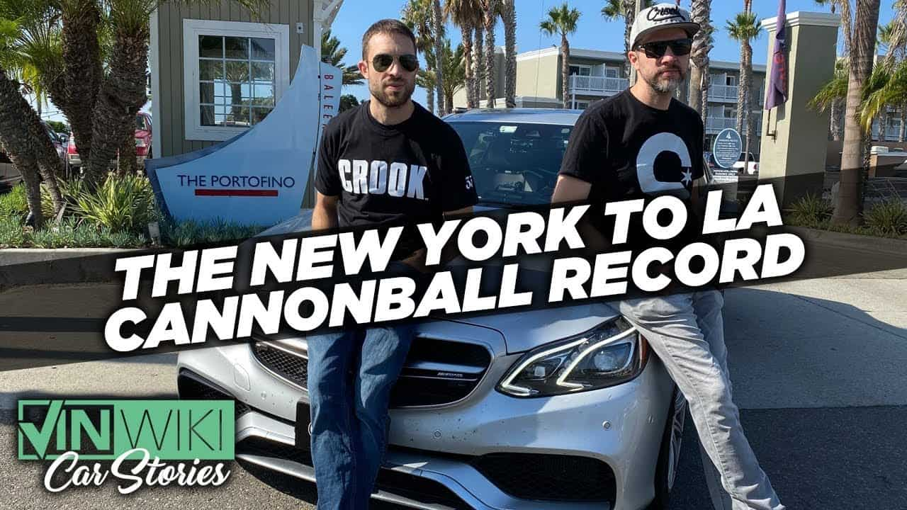New Cannonball Record ~ New York to LA in 27 Hours 25 Minutes