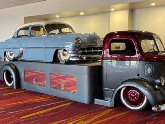 Popeyes Rod Shop 1941 Ford COE Custom Hauler
